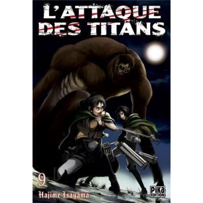 L attaque des titans tome 9