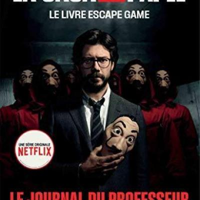 La casa de papel le livre escape game