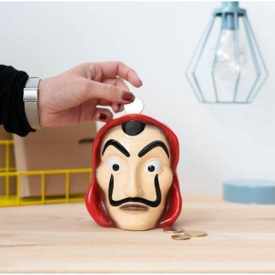 La casa de papel masque tirelire