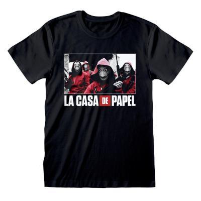 La casa de papel t shirt photo logo