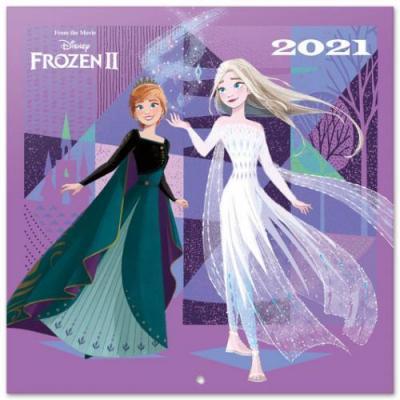 La reine des neiges 2 calendrier 2021 30x30cm