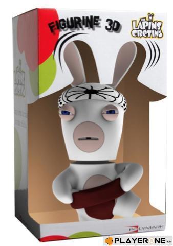 Lapins cretins figurine 3d lapin sumo 21 cm
