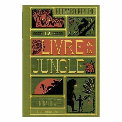 Le livre de la jungle edition minalima