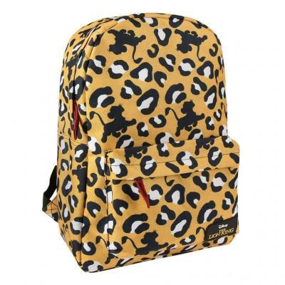 Le roi lion patchwork sac a dos 30x44x12cm