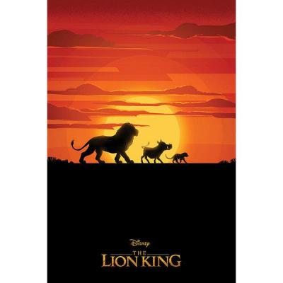 Le roi lion poster 61x91 the lion king long live the king