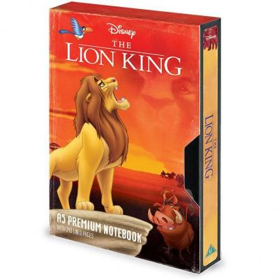 Le roi lion vhs circe of life notebook a5 premium