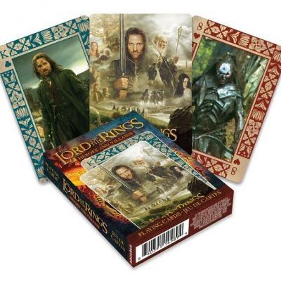 Le seigneur des anneaux heroes villains jeu de cartes