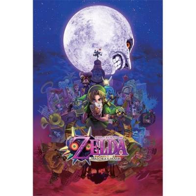 Legend of zelda poster 61x91 majoras mask