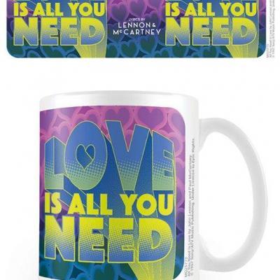 Lennon mccartney love is all you need mug 315ml
