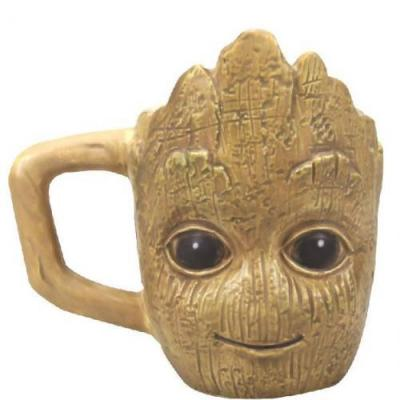 Les gardiens de la galaxie groot mini mug 3d