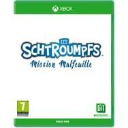 Les schtroumpfs mission malfeuille limited edition xbox one sx