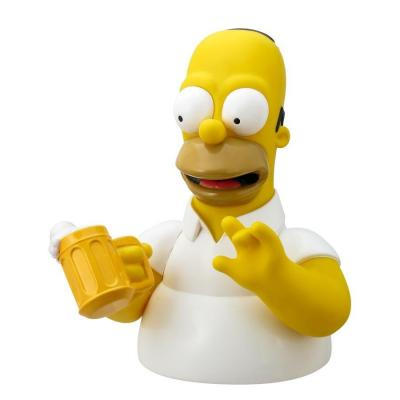 Les simpsons tirelire homer with beer 20cm