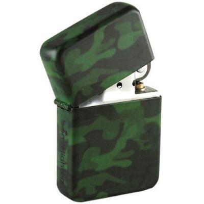 Lighter camo spray tin box