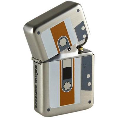 Lighter cassette tape tin box