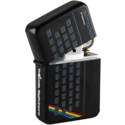 Lighter sinclair zx spectrum tin box