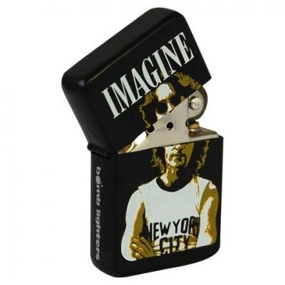 Lighter the beatles john lennon imagine tin box