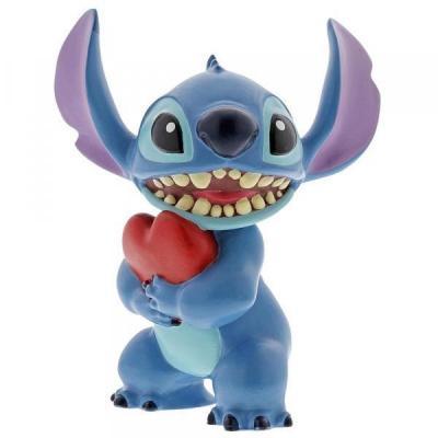 Lilo stitch stitch heart figurine showcase collection 9cm