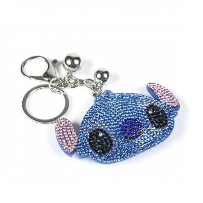 Lilo stitch stitch strass porte cles 3d