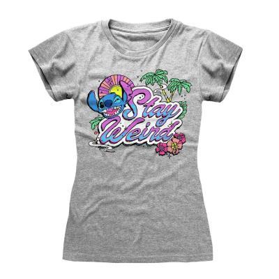 Lilo stitch t shirt stay weird