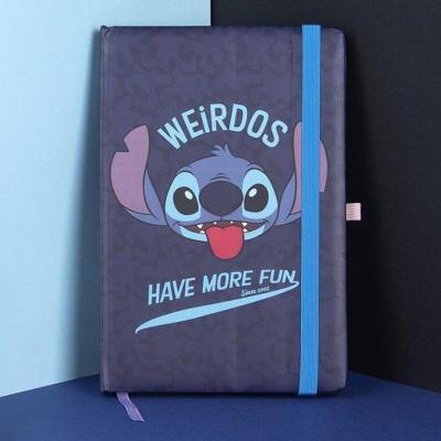 Lilo stitch weirdos have more fun notebook a5