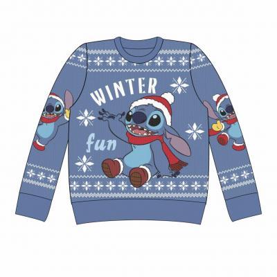 Lilo stitch winter fun pull de noel