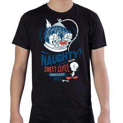Looney tunes naughty t shirt homme