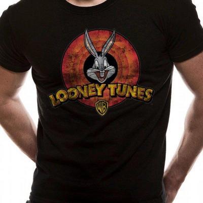 Looney tunes t shirt in a tube destroy logo