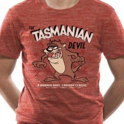 Looney tunes t shirt in a tube tazmania devil