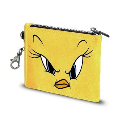 Looney tunes tweety angry porte cartes 10 5x8 5x0 5cm