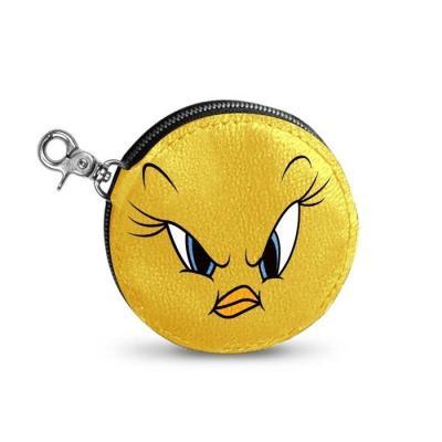 Looney tunes tweety angry portemonnaie 9 5x1 5cm