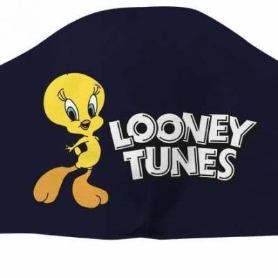 Looney tunes tweety navy masque visage adulte