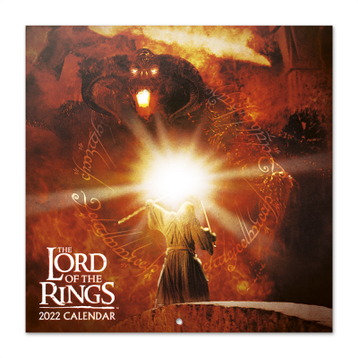Lord of the rings calendrier 2022 30x30cm