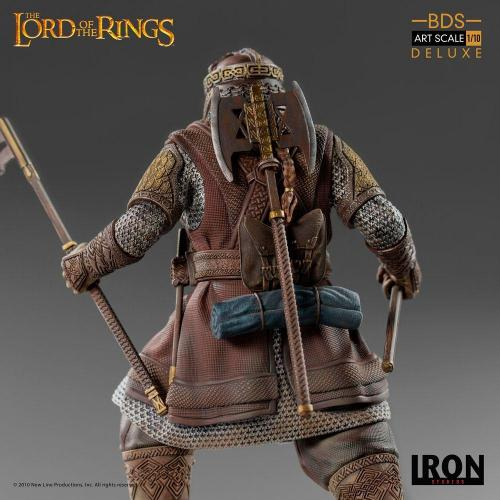 Lord of the rings gimli statuette deluxe bds art scale 21cm 3