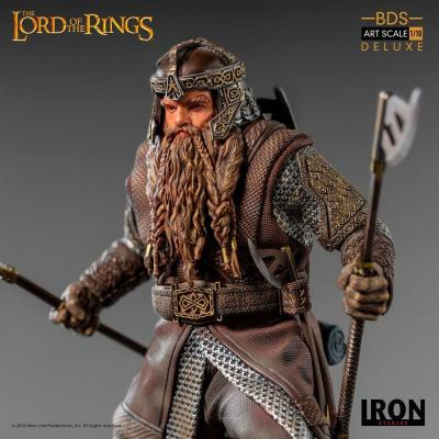 Lord of the rings gimli statuette deluxe bds art scale 21cm