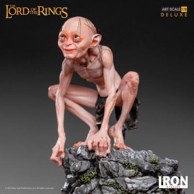 Lord of the rings gollum statuette deluxe art scale 12cm