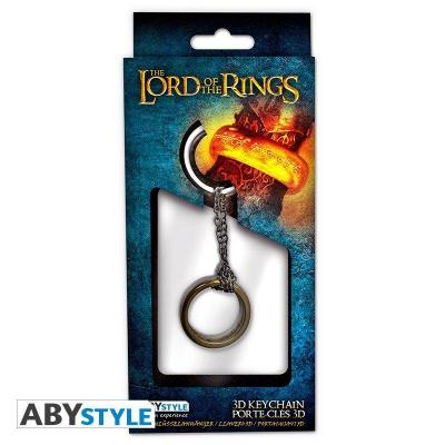 Lord of the rings keyring metal 3d anneau 1