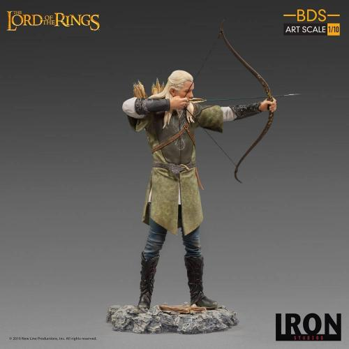 Lord of the rings legolas statuette bds art scale 23cm 1