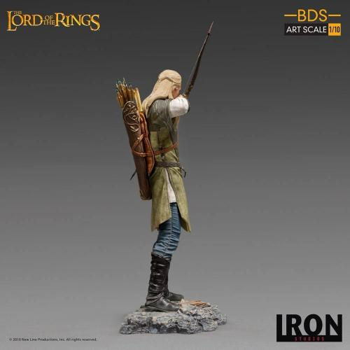 Lord of the rings legolas statuette bds art scale 23cm 2