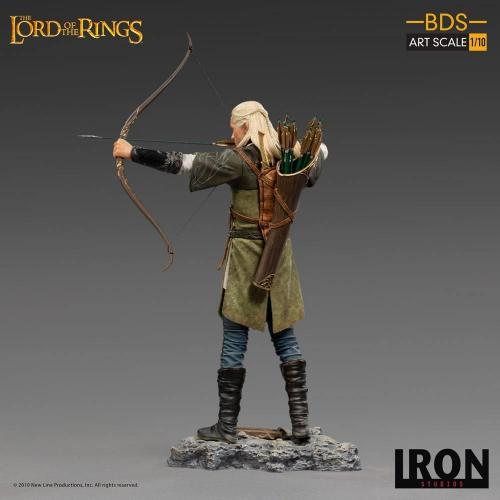 Lord of the rings legolas statuette bds art scale 23cm 3