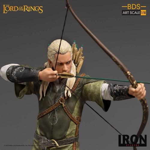 Lord of the rings legolas statuette bds art scale 23cm