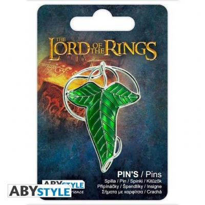 Lord of the rings lorien leaf pin s 3d