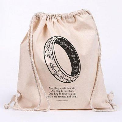 Lord of the rings one ring sac en toile 100 coton 42x37cm