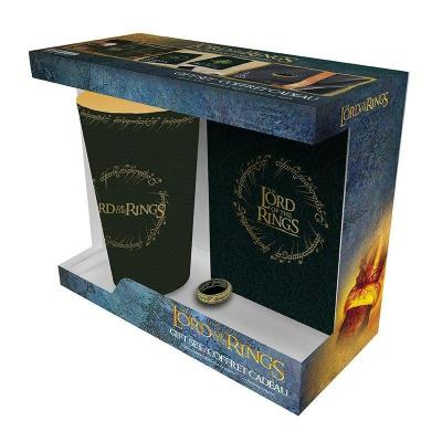 Lord of the rings pack verre 400ml pin s carnet a6