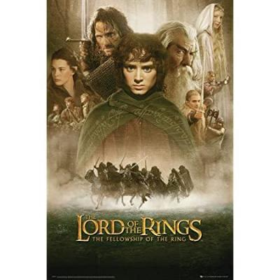 Lord of the rings poster 61x91 fellowship of the ring