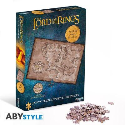 Lord of the rings puzzle 1000 pieces terre du milieu