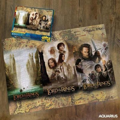 Lord of the rings puzzle 1000p triptyque