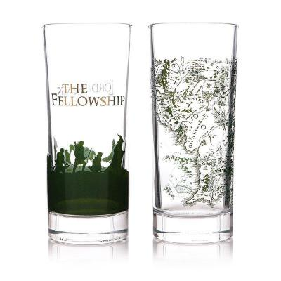 Lord of the rings the fellowship set de 2 verres 300ml