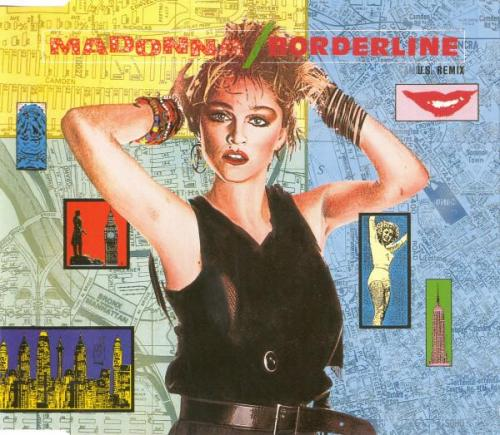 Madonna borderline maxi cd occasion
