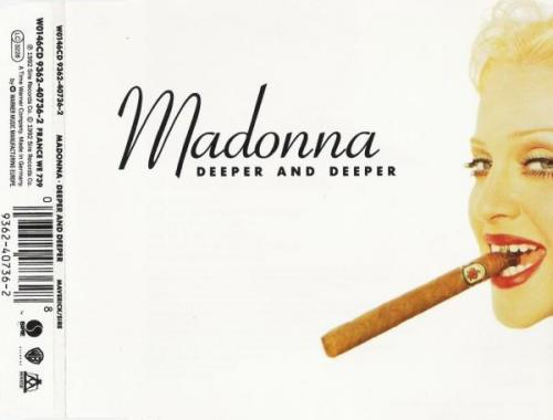 Madonna deeper and deeper maxi cd occasion