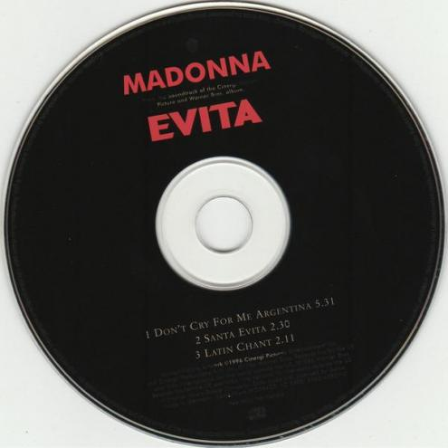 Madonna don t cry for me argentina maxi cd occasion 3